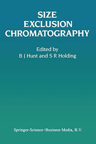 9781461578635: Size Exclusion Chromatography