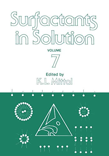 9781461579861: Surfactants in Solution: Volume 7