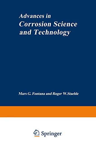 9781461582540: Advances in Corrosion Science and Technology: 1