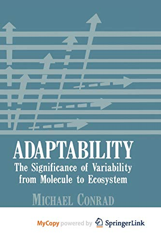 9781461583288: Adaptability: The Significance of Variability from Molecule to Ecosystem