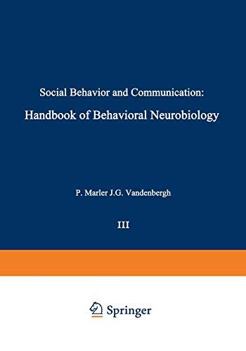 9781461591184: Social Behavior and Communication