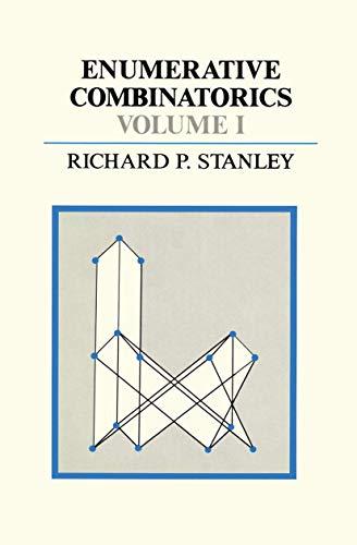 9781461597650: Enumerative Combinatorics (The Wadsworth & Brooks/Cole Mathematics Series) (Volume 1)