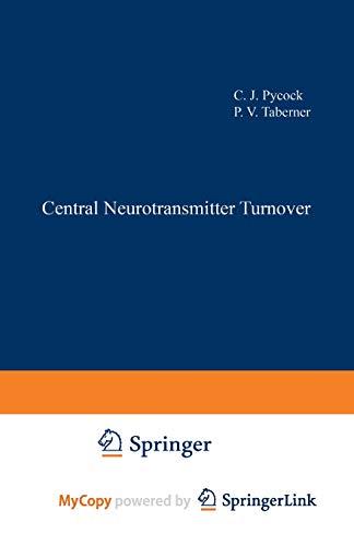 9781461597797: Central Neurotransmitter Turnover