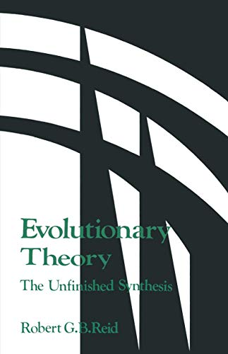 9781461597896: Evolutionary Theory:: The Unfinished Synthesis