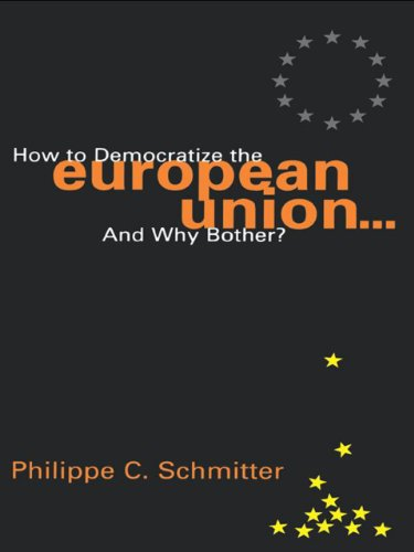 9781461637486: How to Democratize the European Union...and Why Bother? (Governance in Europe)