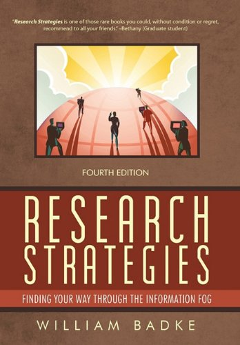 9781462010172: Research Strategies: Finding Your Way Through the Information Fog