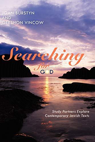 Searching For God Study Partners Explore Contemporary Jewish Texts: Joan Burstyn