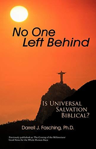 9781462031405: No One Left Behind: Is Universal Salvation Biblical?