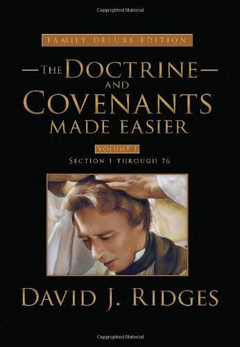 9781462110438: Doctrine and Covenants Made Easier: Family Deluxe Edition, Vol. 1 (The Gospel Studies)
