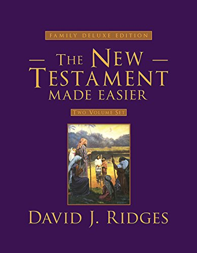 The New Testament Made Easier Set: Family Deluxe Edition: David J. Ridges