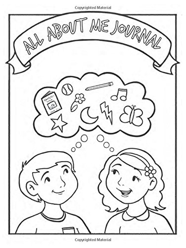 9781462117079: All About Me Children's Coloring Journal