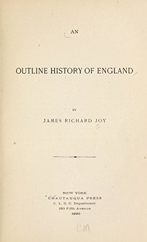9781462211029: An Outline History of England