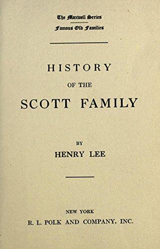 9781462217779: History of the Scott Family