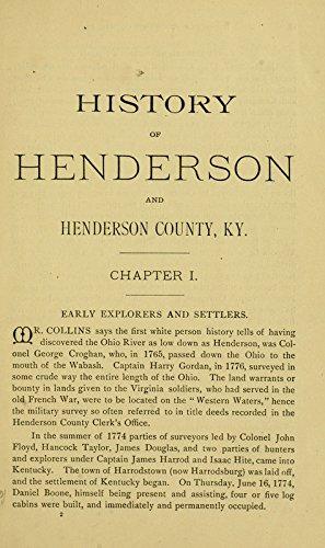 9781462220625: History of Henderson County, Kentucky: