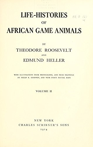 9781462222988: Life-Histories of African Game Animals: