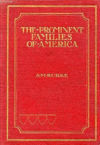 9781462231751: The Prominent Families of the United States of America: