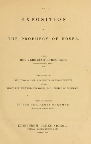 9781462250622: An Exposition of The Prophecy of Hosea
