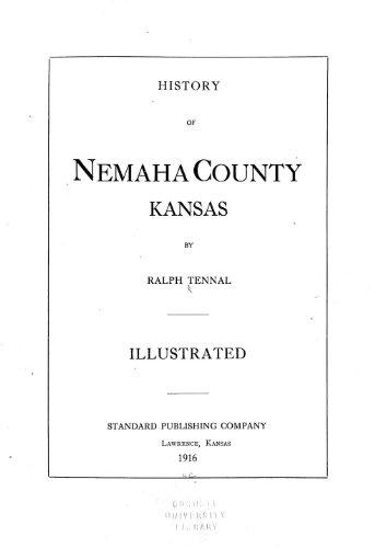 9781462252930: History of Nemaha County, Kansas