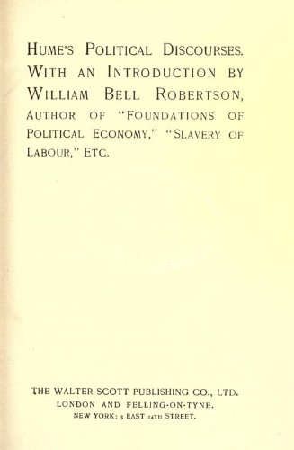 9781462261956: Hume's Political Discourses