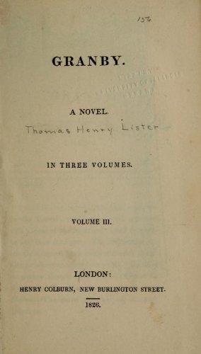 9781462266609: Granby A Novel
