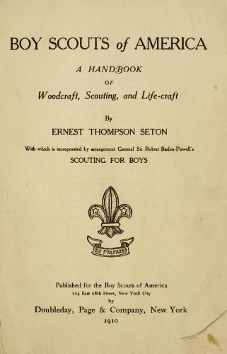 9781462267590: Boy Scouts Of America A Handbook of Woodcraft Scouting, and Life-Craft