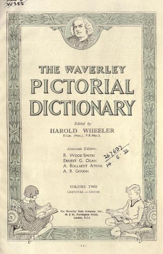9781462267996: The Waverley Pictorial Dictionary