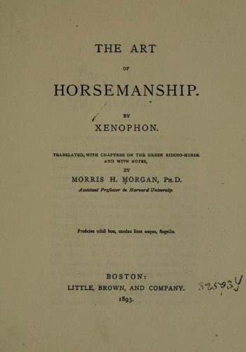 9781462273522: The Art Of Horsemanship
