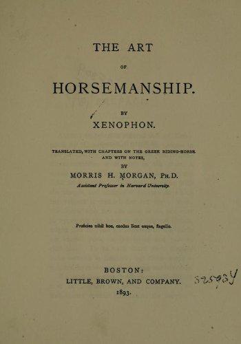 9781462273522: The Art Of Horsemanship