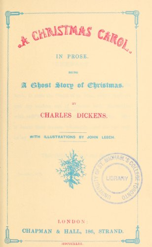 9781462275762: A Christmas Carol: In Prose Being a Ghost Story of Christmas