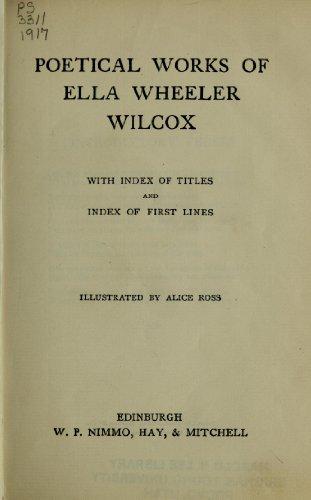 9781462278657: Poetical Works Of Ella Wheeler Wilcox