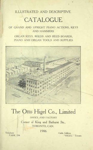 9781462285693: Illustrated and Descriptive Catalogue of Grand and Upright Piano Actions Keys and Hammers, Organ Keys, Reeds and Reed Boards, Piano and Organ Tools and Supplies