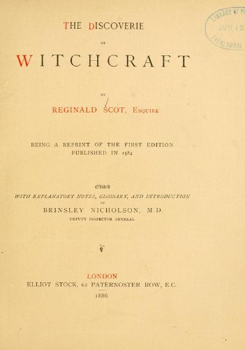 9781462285938: The Discoverie of Witchcraft