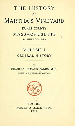 9781462285952: The History Of Martha's Vineyard, Dukes County, Massachusetts: