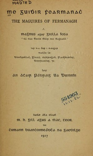 9781462286584: Me Guidhir Fhearmanach The Maguires Of Fermanagh