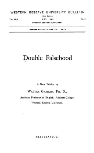 9781462297627: Double Falsehood