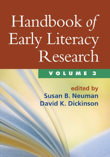 9781462503353: Handbook of Early Literacy Research, Volume 3