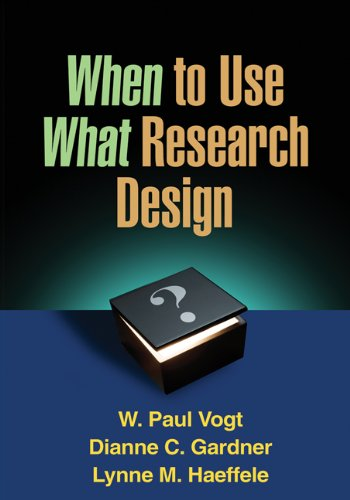 9781462503605: When to Use What Research Design
