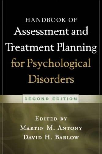 9781462504497: Handbook of Assessment and Treatment Planning for Psychological Disorders, 2/e