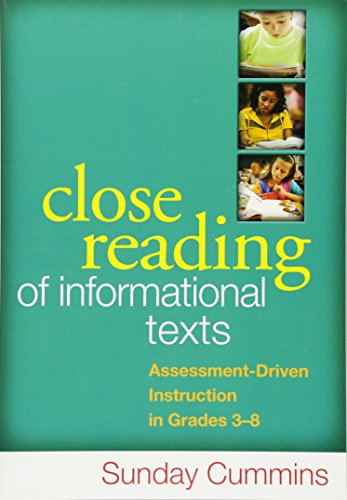 9781462507818: Close Reading of Informational Texts: Assessment-Driven Instruction in Grades 3-8