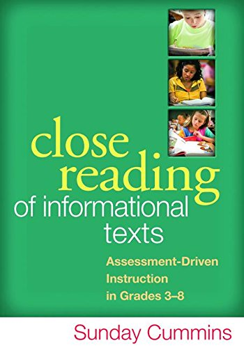 9781462507856: Close Reading of Informational Texts: Assessment-Driven Instruction in Grades 3-8