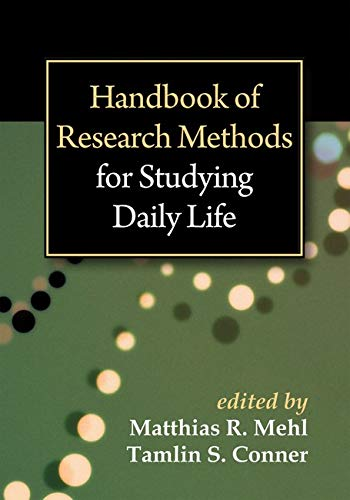 9781462513055: Handbook of Research Methods for Studying Daily Life