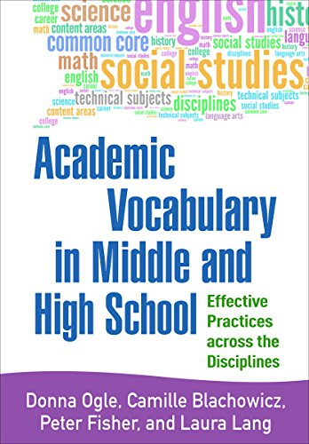 9781462522583: Academic Vocabulary in Middle and High School: Effective Practices across the Disciplines