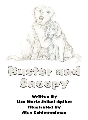 Buster and Snoopy: Lisa Marie Zsikai-Spiker