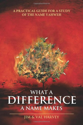 9781462705313: What a Difference a Name Makes: A Practical Guide for a Study of the Name Yahweh