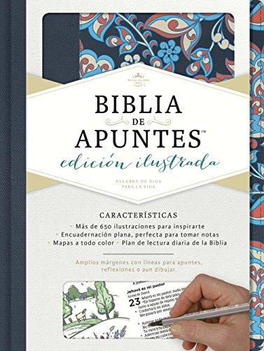 9781462746484: Rvr 1960 Biblia de Apuntes, Edición Ilustrada, Tela En Rosado y Azul