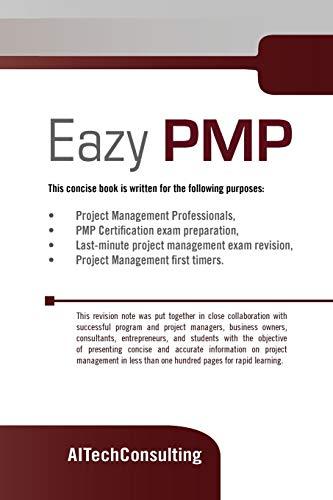 9781462829309: Eazy PMP