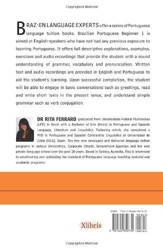 9781462850730: BRAZ-EN LANGUAGE EXPERTS: BRAZILIAN PORTUGUESE BEGINNER 1 (Multilingual Edition)