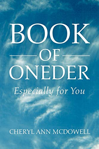 9781462871162: Book of Oneder: Especially for You