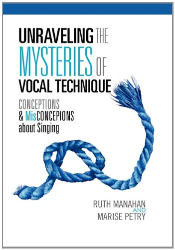 Unraveling the Mysteries of Vocal Technique: Conceptions Misconcepions about Singing: Ruth Manahan