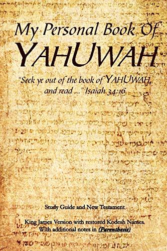 My Personal Book Of YAHUWAH (Multilingual Edition): Glen Wilson
